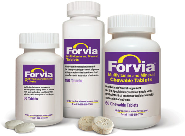 Forvia IBD supplements with iron