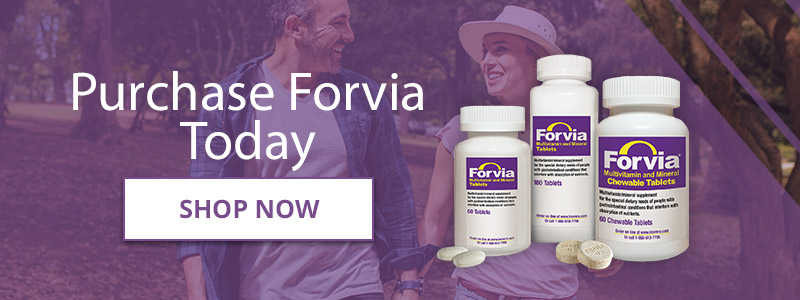 Get your IBD supplement Forvia online today